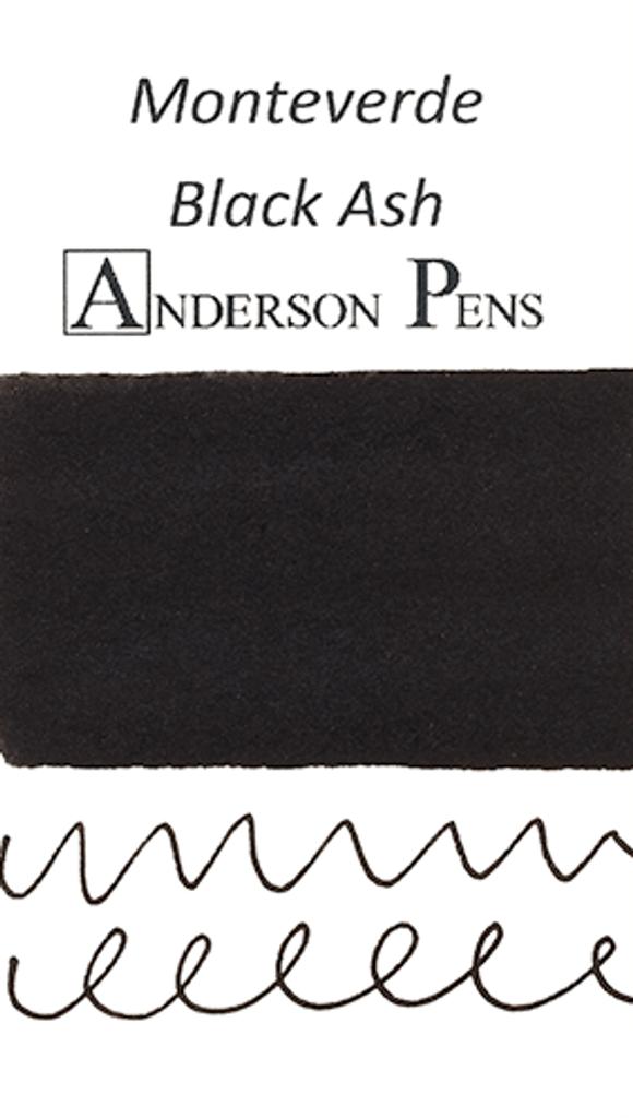 Monteverde Black Ash Ink Color Swab