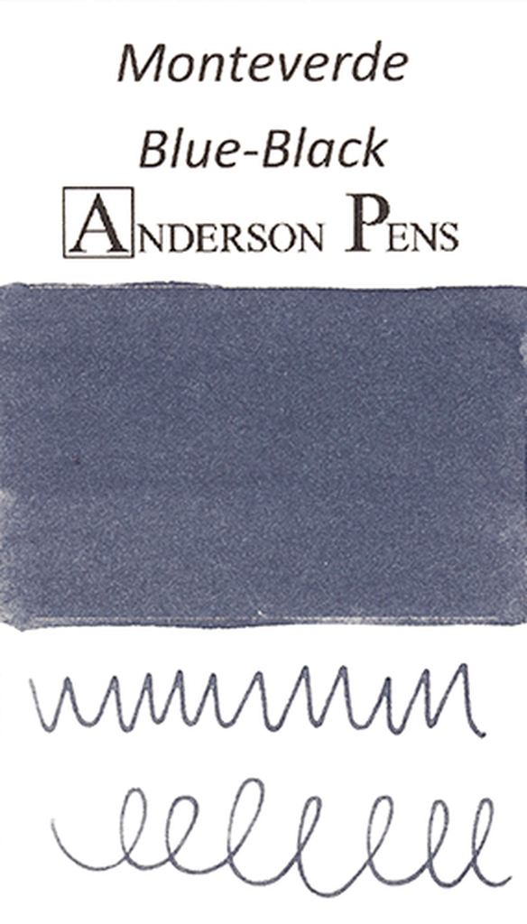 Monteverde Blue-Black Ink Swab