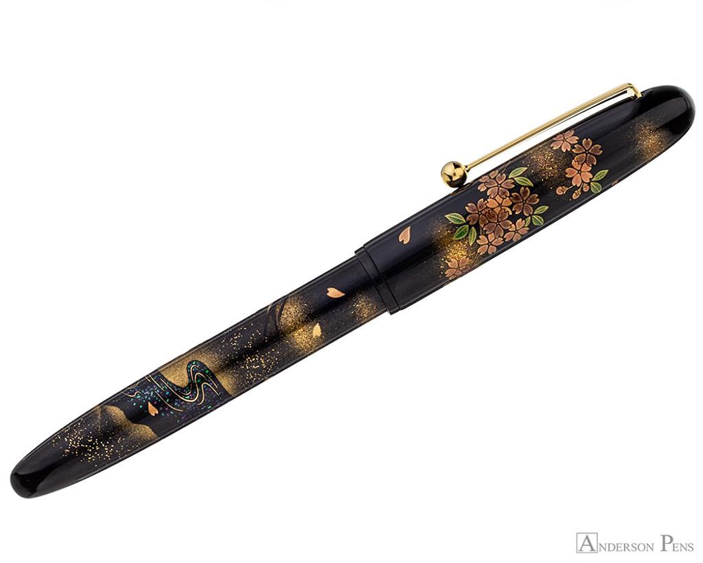 Namiki Yukari Maki-e Fountain Pen - Swallow - Profile