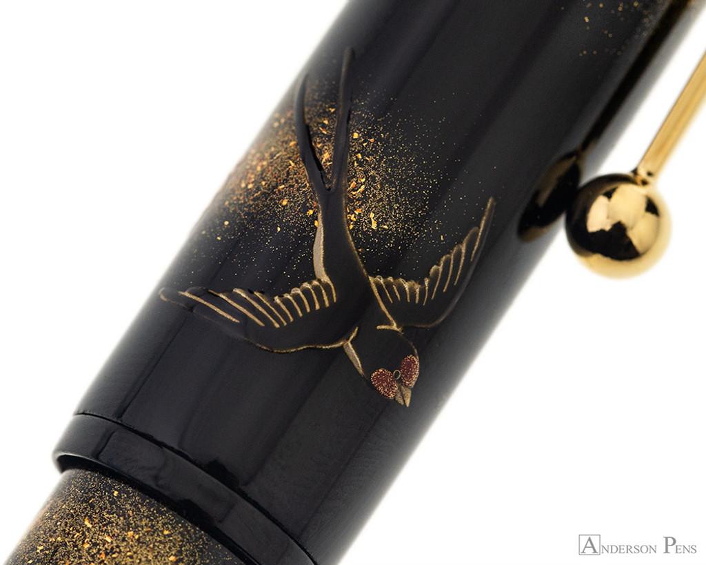 Namiki Yukari Maki-e Fountain Pen - Swallow - Pattern 5