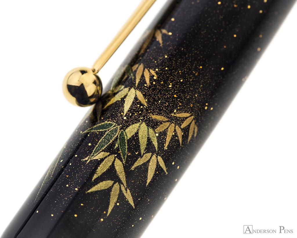 Namiki Yukari Maki-e Fountain Pen - Bamboo - Pattern 2