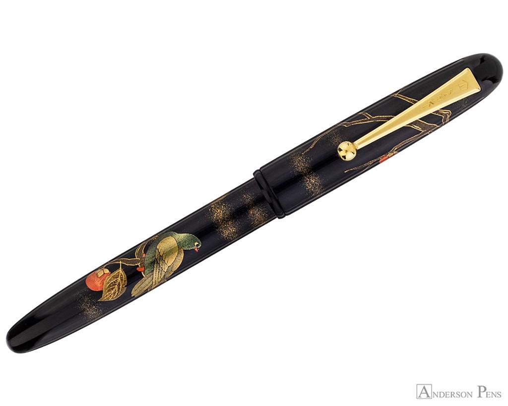 Namiki Yukari Maki-e Fountain Pen - Pigeon & Persimmon