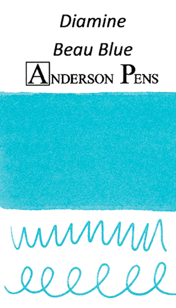 Diamine Beau Blue Ink Sample (3ml Vial)
