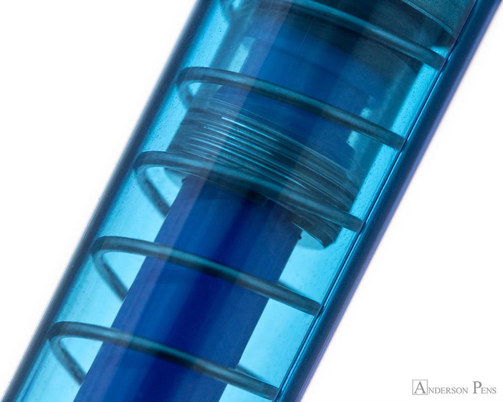 TWSBI GO Fountain Pen - Sapphire - Transparency
