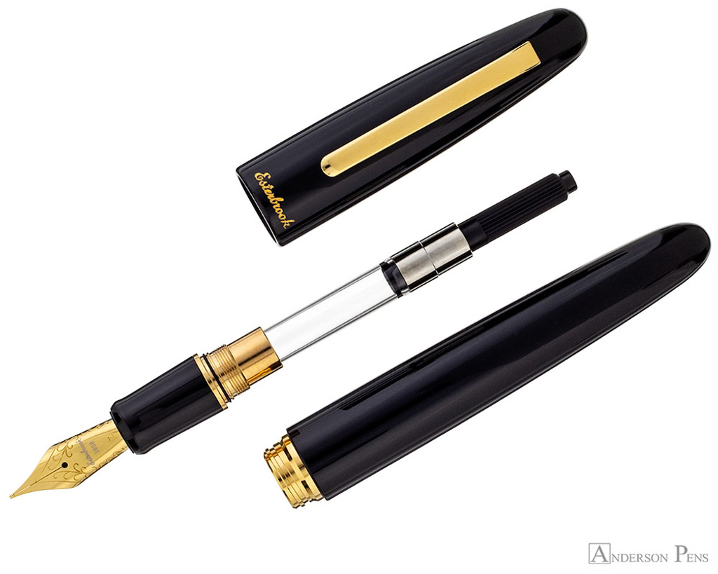 Esterbrook Estie Fountain Pen - Oversized Ebony with Gold Trim - Parted Out