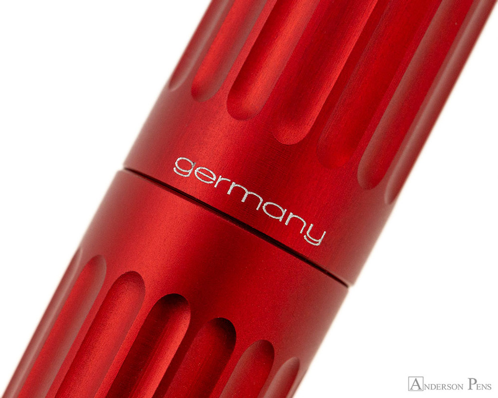 Diplomat Aero Fountain Pen - Red - Imprint 2