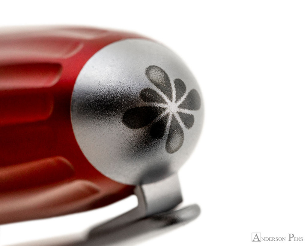 Diplomat Aero Rollerball - Red - Cap Top