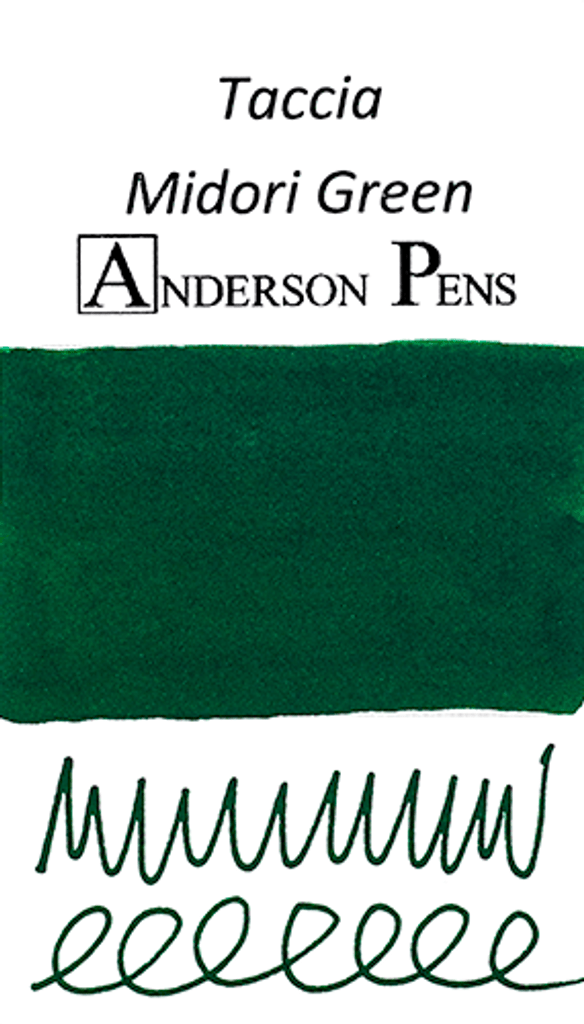 Taccia Midori Green Ink Sample (3ml Vial)