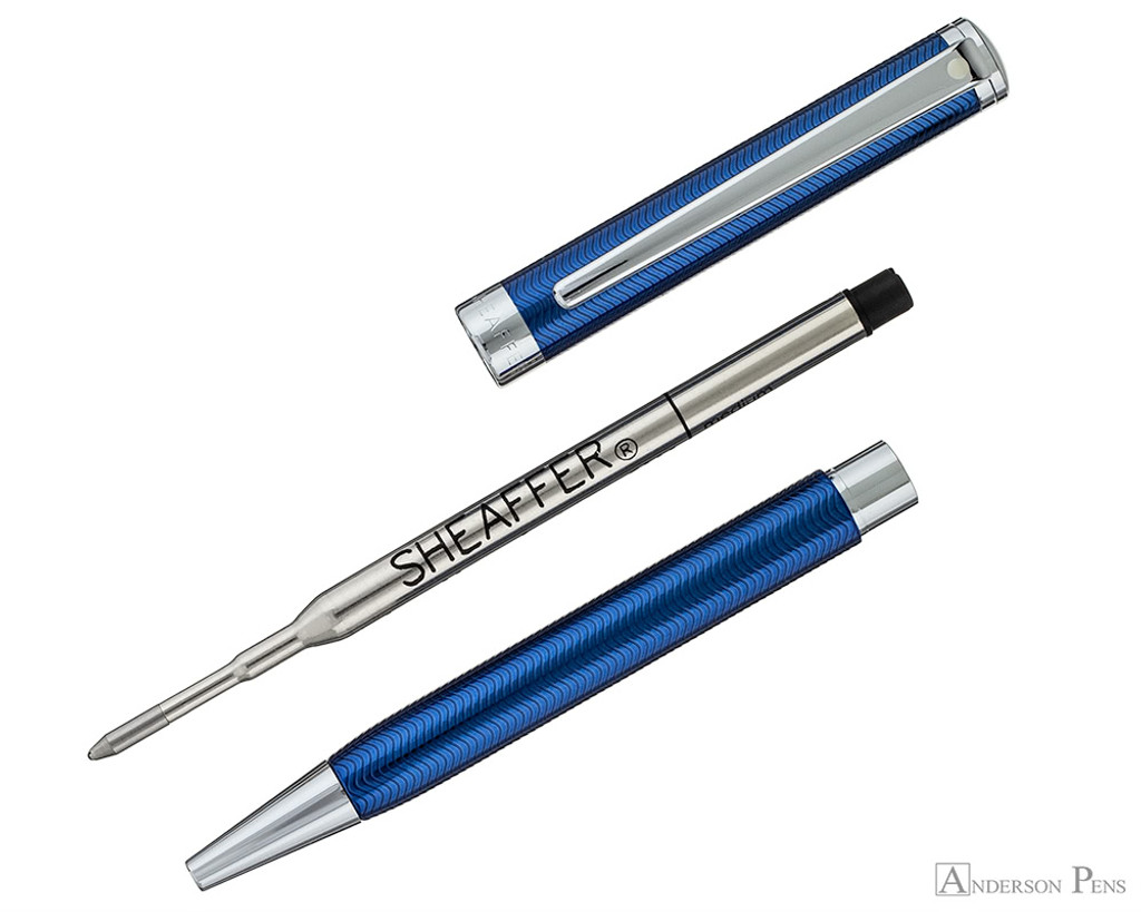 Sheaffer Intensity Ballpoint - Blue Lacquer with Chrome Trim