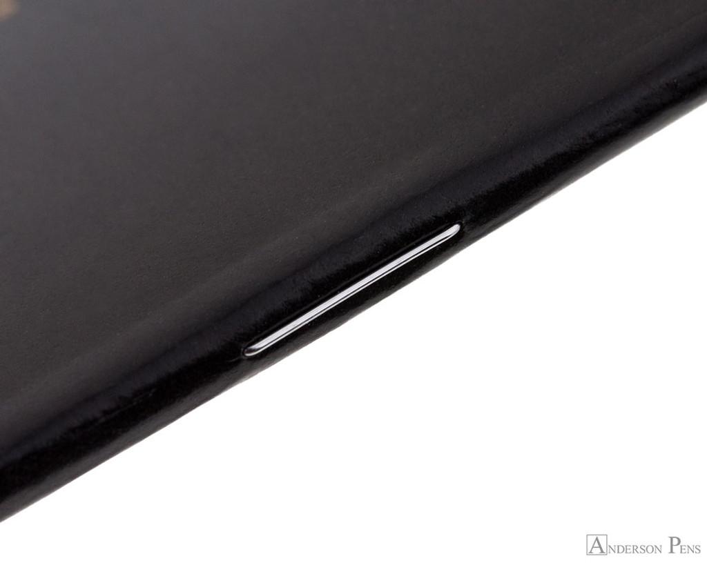 Rhodia Staplebound Notebook - 3 x 4.75, Graph - Black staple detail