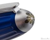 Diplomat Aero Fountain Pen - Blue - Cap Top