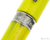 Visconti Breeze Fountain Pen - Lemon Barrel Band