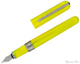 Visconti Breeze Fountain Pen - Lemon Open