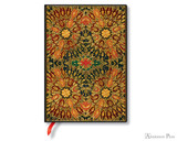 Paperblanks Midi Journal - Fire Flowers, Lined