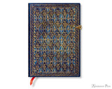 Paperblanks Midi Journal - River Cascade Blue Rhine, Lined