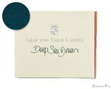 Graf von Faber-Castell Deep Sea Green Ink Cartridges (6 Pack)