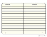 Leuchtturm1917 Notebook - A5, Lined - White - inside
