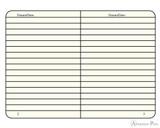 Leuchtturm1917 Notebook - A5, Lined - White - inside