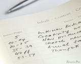 Leuchtturm1917 Notebook - A5, Lined - White - Index