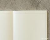 Midori MD Notebook A5 - Frame - Page Closeup