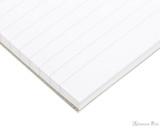 Rhodia No. 16 Wirebound Notepad - A5, Lined - Black - Detail