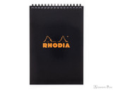 Rhodia No. 16 Wirebound Notepad - A5, Lined - Black