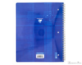 Clairefontaine Classic Wirebound Notebook - A4, Lined with Margin - Assorted - Back