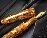 Esterbrook Estie Fountain Pen - Oversized Honeycomb with Gold Trim - Beauty 1