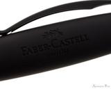 Faber-Castell Essentio Black Carbon Fountain Pen - Cap Imprint