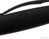 Faber-Castell Essentio Black Carbon Fountain Pen - Cap Imprint
