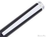 Sheaffer Intensity Ballpoint - Onyx Black with Chrome Trim - Clip