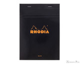 Rhodia No. 16 Staplebound Notepad - A5, Blank - Black