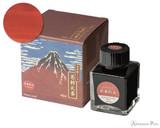 Taccia Ukiyo-e Ink - Hokusai Katsushika (40ml Bottle) - Hokusai-Benitsuchi (Red Soil)