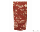 Taccia Kimono Three-Slot Pen Case - Crimson Hare
