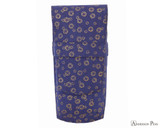 Taccia Kimono Three-Slot Pen Case - Navy Bloom