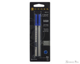 Cross Selectip Gel Rollerball Refill (2 Pack) - Blue, Medium