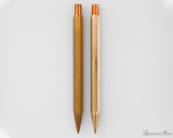 ystudio Classic Brass Copper Mechanical Pencil - Aging