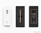 ystudio Classic Brass Copper Mechanical Pencil - Packaging