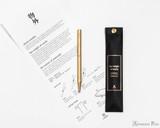 ystudio Classic Brass Copper Slim Ballpoint Pen - Packaging