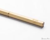 ystudio Classic Brass Copper Slim Ballpoint Pen - Imprint