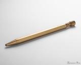 ystudio Classic Brass Ballpoint Pen - Side
