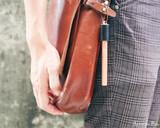 ystudio Classic - Copper Portable Fountain Pen - On Bag 2