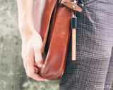 ystudio Classic - Copper Portable Fountain Pen - On Bag 2
