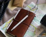 ystudio Brassing Portable Ballpoint - White - In Planner