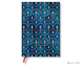 Paperblanks Midi Journal - Blue Velvet, Lined