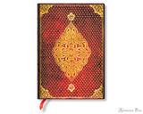 Paperblanks Midi Journal - Golden Trefoil, Lined
