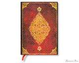 Paperblanks Midi Journal - Golden Trefoil, Lined