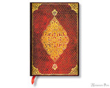 Paperblanks Mini Journal - Golden Trefoil, Lined