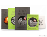 Field Notes Notebooks - Limited Edition Vignette (3 Pack) - Open