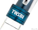 TWSBI 580ALR Fountain Pen - Prussian Blue - Trimband